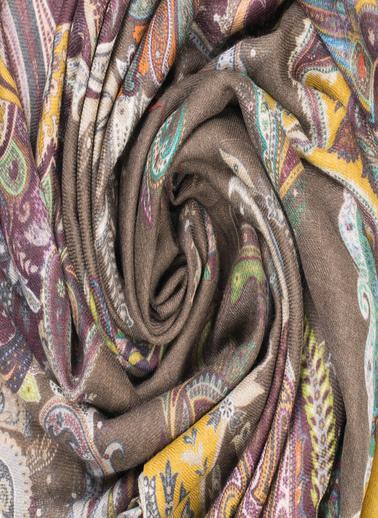 Silk and Cashmere Şal Renkli